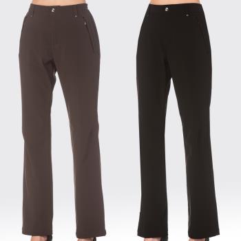 【SAMLIX山力士】女 彈性 防風 保暖 三層貼合 長褲  WW203