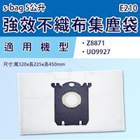適用 伊萊克斯 專用集塵紙袋S-BAG 同E210 / E-210【4包裝(共16入)】