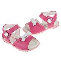 《布布童鞋》HelloKitty凱蒂貓桃色淑女兒童涼鞋(13~17公分) [ C7D812H ] 桃色款