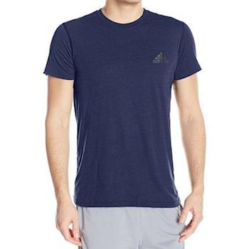 Adidas 2017男時尚TU性能深藍色圓領短袖ㄒ恤(預購)