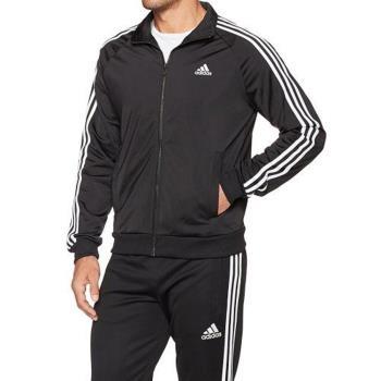 Adidas 2017男經典Tricot黑色運動立領拉鍊夾克(預購)