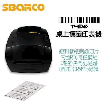 SBARCO T4DE豪華型桌上條碼標籤印表機(冷凍食品廠可用,碳帶等耗材需另購)