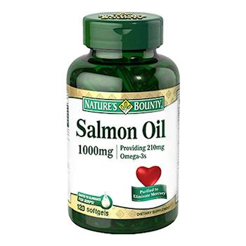自然之寶鮭魚油軟膠囊