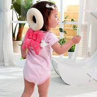 親親寶貝 頂級棉柔Q彈嬰兒護頭枕 護頸枕 寶寶學步防撞安全守護