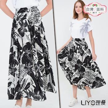 【LIYO理優】MIT印花長裙E733002