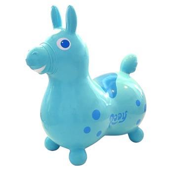 【 義大利 RODY 】跳跳馬 (粉藍)