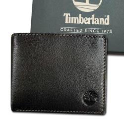 Timberland 男皮夾-原廠正品 荔枝紋牛皮 短夾