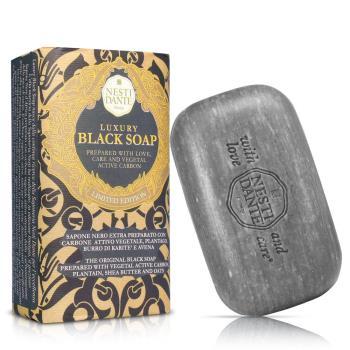 任-Nesti Dante  義大利手工皂-尊寵黑金淨化皂(250g)
