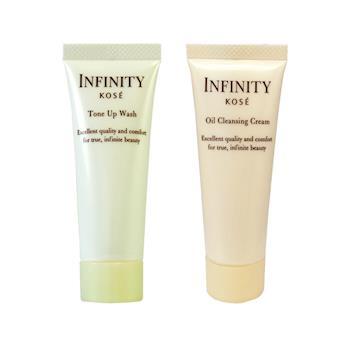 KOSE  高絲 無限肌緻 精潤洗顏霜25g+精潤卸粧霜25g 搶鮮體驗組