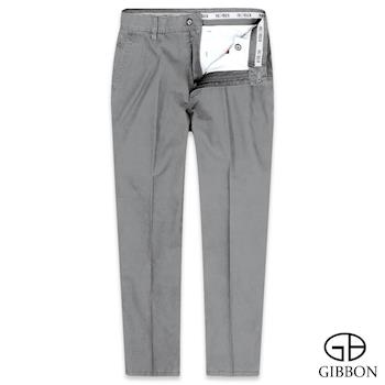 GIBBON 有機棉質親膚平口休閒褲‧卡其灰31-42