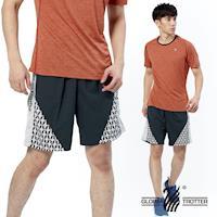 【遊遍天下】MIT台灣製男款透氣休閒短褲P122A(灰色)