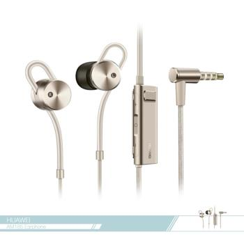 Huawei華為 原廠AM185主動降噪 入耳式高保真立體聲耳機 3.5mm - 金 (全新盒裝)
