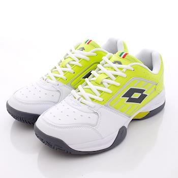 Lotto樂得-專業網球鞋款-MR3374白螢光黃(男款)