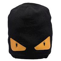 FENDI 經典Bugs系列羊毛針織毛帽(黑色)