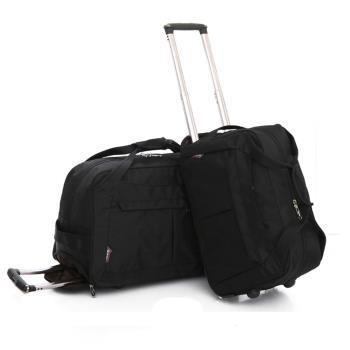 【GoTrip 微旅行】24吋 韓版秋冬款多隔層拉桿旅行袋(24吋 拉桿包 拉桿箱 登機箱 箱包)