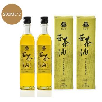 賴記-低溫鮮榨苦茶油500ML(2入優惠組)