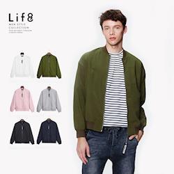 Life8-Casual 輕量纖維 型男御用MA-1飛行夾克-03930
