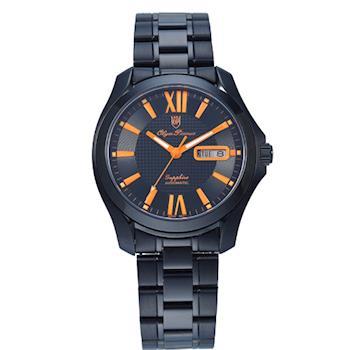 奧柏表 Olym Pianus-瑰麗雅緻機械錶8973AMB