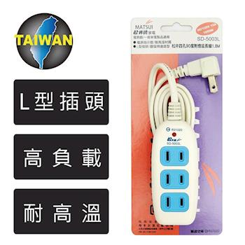 悠麗 YOULY 一燈四插座電源延長線 1.8M SD-5003L-6