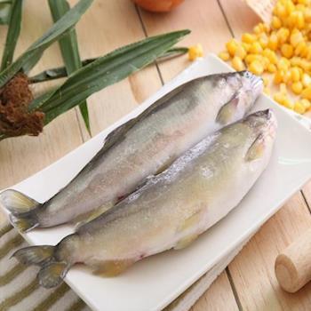華得水產 特選超爆卵母香魚2盒(4~6尾/1kg/盒)
