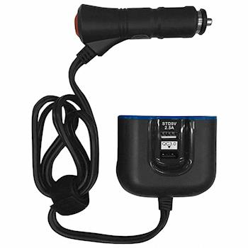 【KINYO】車用USB點菸器擴充座(CRU-35)