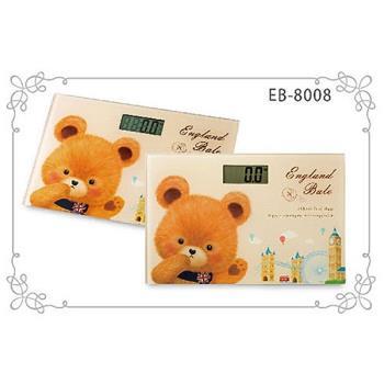 英國貝爾熊體重計 EB-8008