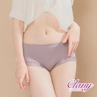任-【可蘭霓Clany】微性感蕾絲抗敏M-XL內褲 (優雅紫 2171-91)