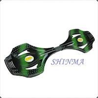 【運動流行】搖擺鋁合金蛇板/迷彩綠