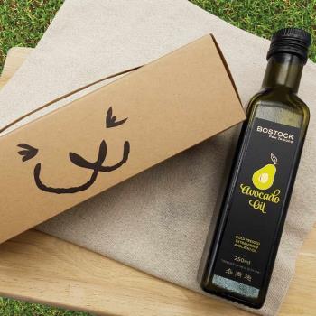 【壽滿趣- Bostock】頂級冷壓初榨酪梨油(250ml 單瓶禮盒裝)