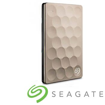 Seagate Backup Plus Ultra Slim 2.5吋外接硬碟 1TB金色