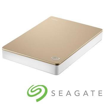 Seagate Backup Plus 2.5吋外接硬碟 4TB金色