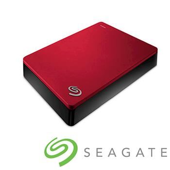 Seagate Backup Plus 2.5吋外接硬碟 4TB紅色