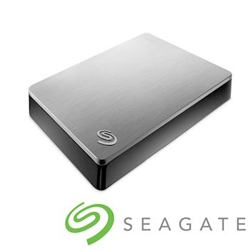 Seagate Backup Plus 2.5吋外接硬碟 4TB銀色