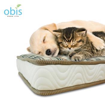 床墊 寵物床墊 64*42(小)【obis】 Peter 寵物銀離子獨立筒床墊64*42(小)