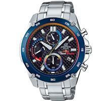 【CASIO】EDIFICE 限量聯名款三針三眼賽車不鏽鋼錶- (EFR-557TR-1A)