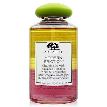ORIGINS品木宣言 執米不悔純米精萃潔顏油150ml+化妝棉90片(綠版)