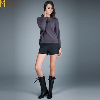MONS專櫃百搭基本款舒適西裝短褲