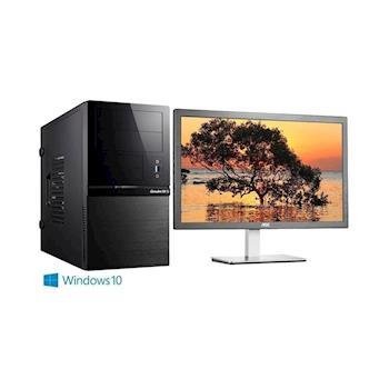 捷元 GP888 Optane-8Q i3-7100雙核 Win10Pro 電腦+AOC捷元 i2276VW6 21.5吋 液晶螢幕 超值組