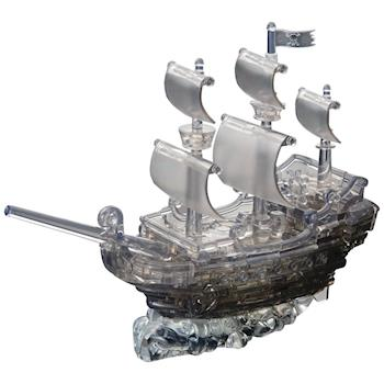 《3D 立體水晶拼圖》海盜船奇
