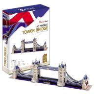 《Cubic Fun》3D立體建築拼圖-精裝-倫敦雙子橋