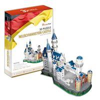 《Cubic Fun》3D立體建築拼圖-精裝-德國新天鵝城