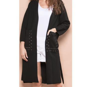i.88 紐約時尚簡約針織外套