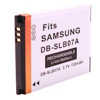Kamera 鋰電池 for Samsung SLB-07A(DB-SLB-07A)