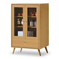 【時尚屋】無印風置物櫃MT7-375-1免組裝/免運費/置物櫃