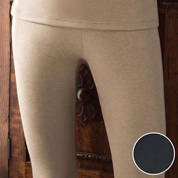【華歌爾】NEW EKS升級發熱 M-LL 九分保暖褲(洗鍊藍)-保暖-舒適-居家-日本發熱紗