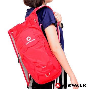 【美國 AIRWALK】熱情仲夏休閒後背包-紅色