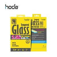 HODA iPhone X 高透光滿版鋼化玻璃保護貼 0.33mm 黑色