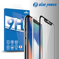 BLUE POWER Apple iPhone X 3D 曲面 滿版 9H鋼化玻璃保護貼 黑/白
