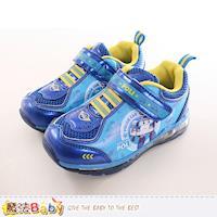 魔法Baby 男童鞋 POLI波力正版授權閃燈運動鞋~sa71246