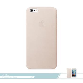 APPLE蘋果 原廠iPhone 6 Plus/ 6S Plus 專用 皮革護套-玫瑰灰色 /手機保護殼 /防護背蓋